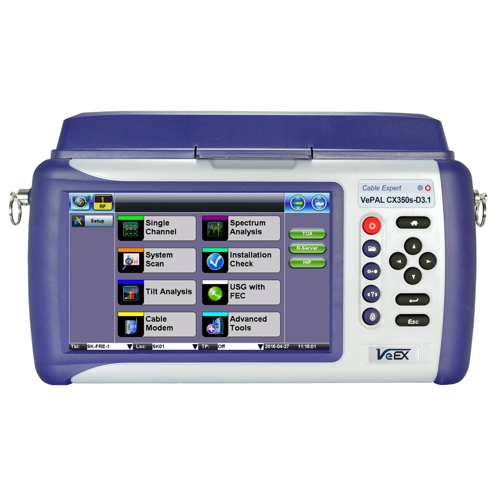 VeEX CX350s-D3 1 - Frame Communications