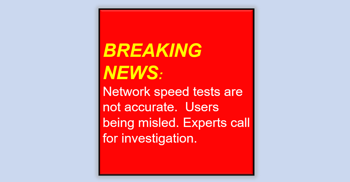 Speed-test-warning-news